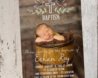 Baptism Invitation- Digital