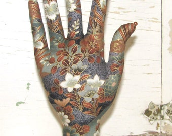 POPULAR Style Hand Jewelry Display Zen Garden Fabric HAND-Stand