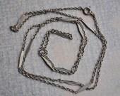 Vintage metal chain.
