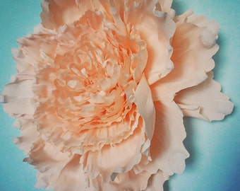 Giant Crepe Paper Peony Wall Flower Home Wedding Decor