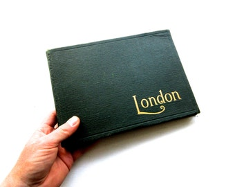 """Antique London Guidebook with """"Photographic Views of London"""""""
