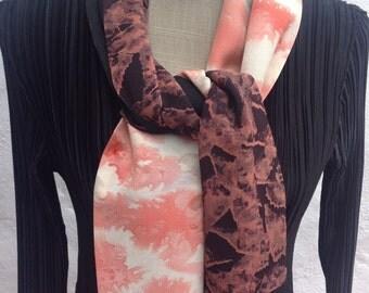 Vintage kimono silks, Pink and black  FREE SHIPPING