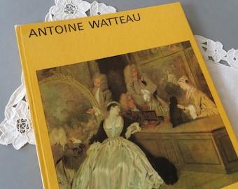 Antoine Watteau Paintings Book Artwork Reproduction Book Biography