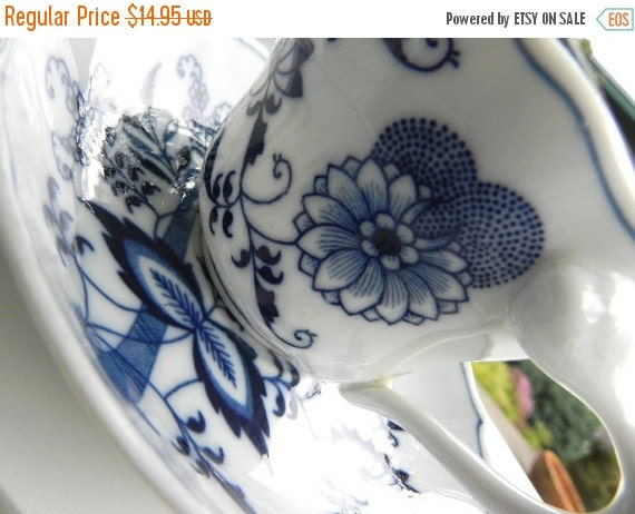 ON SALE Blue Danube Vintage Cup and Saucer