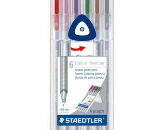 Triplus Fineliner Pen Set 6pc - Nature
