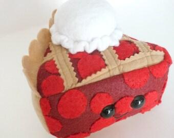 Cherry Pie A La Mode Plush