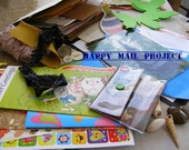 Reserved for Snail Mail Project, Happy Mail Flat Envelope, CUSTOMIZE
