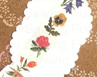 Washi Tape: Blooms