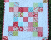 Little Ruby Mini Quilt - Moda Bonnie and Camille Little Ruby