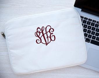 Monogram Laptop Case