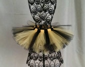 Black and Yellow Tutu, For Teens and Ladies