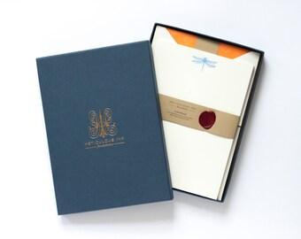 Dragonfly Letterpress Letterhead Box Set