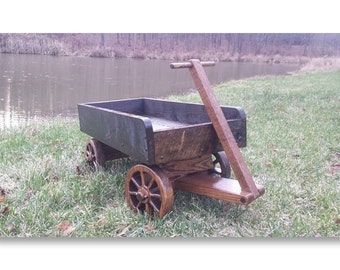 Rustic All Wood Wagon