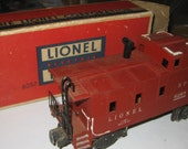 Lionel S  PCaboose 6257 O Gauge Excellent Shape / With Box collectible