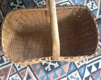 Antique Market Basket