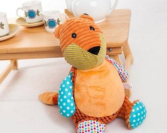 Personalised Fox Soft Toy