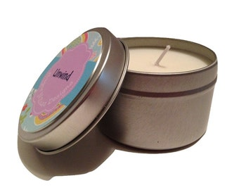 Unwind - 6 oz aromatherapy soy candle