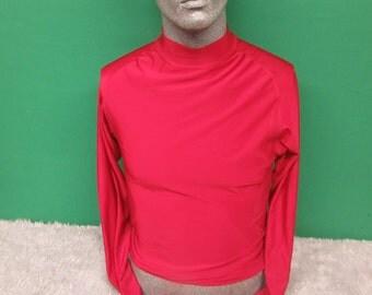Long sleeve maroon shirt  #681A