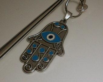 Hamsa Amulet Bookmark