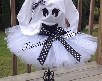 Ghost tutu outfit