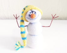 Christmas - Toys - Christmas gifts - Figurine - Felt doll - Handmade toys - Needle felting - Felt toys - Toy - Gifts for her - gifts for men