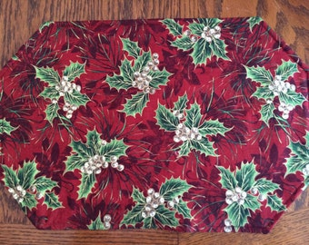 Christmas/Winter Placemat Set (12)