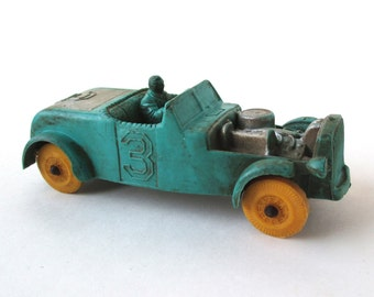 Vintage 1950s Toy Hot Rod, Race Car, Made in USA Toy, Auburn Company
