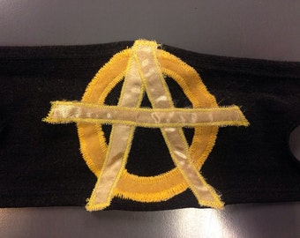 Anarchy Armband Ancap Black and Gold 3of3
