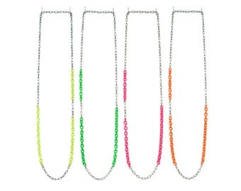 Neon Layering Necklace