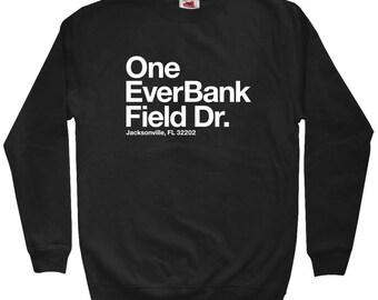 Jacksonville Football Stadium Sweatshirt - Men S M L XL 2x 3x - Crewneck, Jax Shirt, Florida, Fan, Sports, Gift - 3 Colors