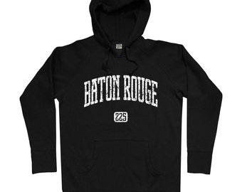Baton Rouge 225 Hoodie - Men S M L XL 2x 3x - Baton Rouge Hoody, Sweatshirt, Louisiana, LSU - 4 Colors
