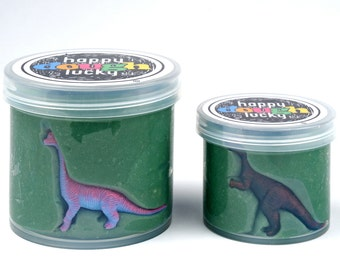 Dinosaur Play Dough Party Favor
