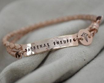 Skinny Medical Alert Wrap Bracelet - Customize - Personalize