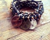Winners Circle: Versatile crocheted necklace / bracelet / belt / headband