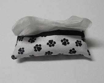 Paw Print Pocket Tissue Cozy