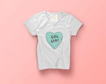 Girl Gang tee