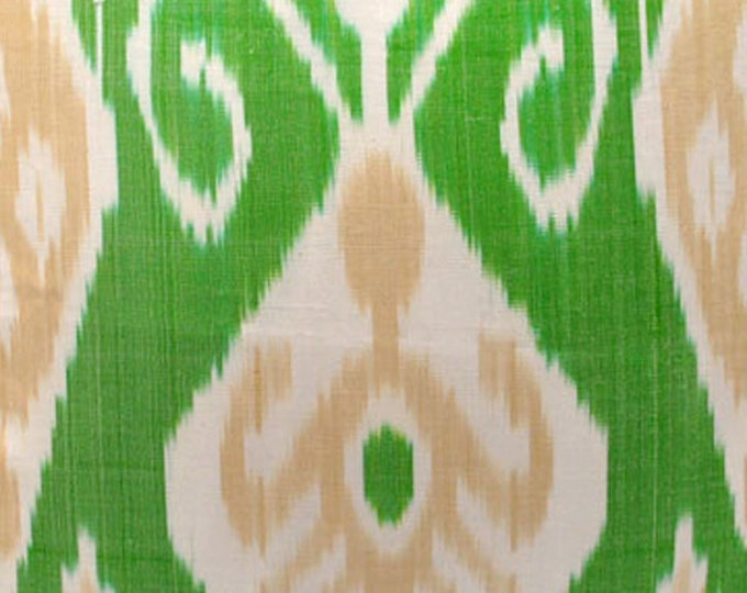 Sale! Ikat Fabric, Ikat Fabric by the yard, Hand Woven Fabric , F-A406