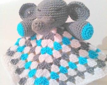 Elephant Lovey/Snuggie