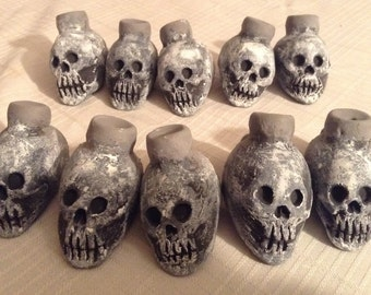 Aztec Death Whistles / Numbers 11 - 20 / ONLY 3 Available! / 20 Dollars each plus shipping