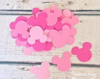 Minnie Mouse Birthday Decoration, Pink Minnie Mouse Birthday Decoration, Pink Minnie Mouse Baby Shower Decoration, 1st Birthday Minnie Mouse