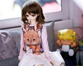 SD,DD Pink bunny shirt