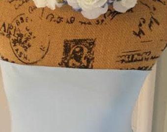 Floral Crown, Photo Prop, Wedding Crown