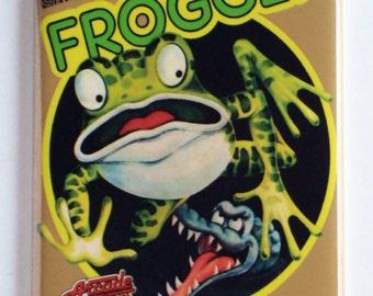 Frogger Video Game Fridge Magnet