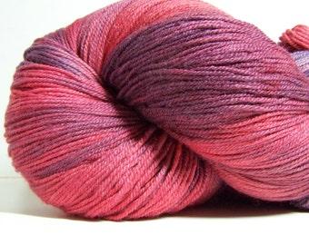 Polwarth, Silk, DK Weight, 3ply Yarn, 550 yrds, 250 grams