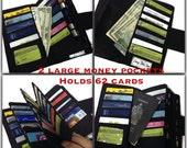 Women's Wallet, Black Wallet, 62 Credit Card Holder, Coupon Organizer, Dave Ramsey, Credit Card Holder, Travel Wallet