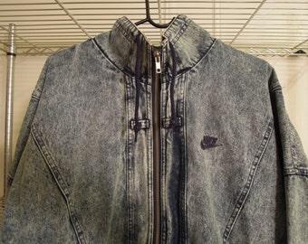 Vintage NIKE denim jacket! YES, your dreams have come true