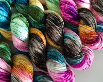 classic {sock} | KARMA | ready to ship | hand dyed yarn | merino nylon