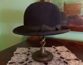Vintage Stetson Hat -John B Stetson Co. Grand Prize 1900 Freedlanders, Wooster Ohio Wedding Costume Steampunk Dapper