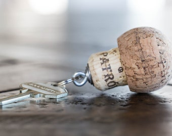 Patron Cork Key Chain - Boat Keys