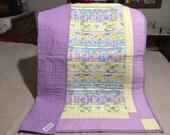 Cutest Baby Ever - Baby Girl Quilt, Toddler Blanket, Newborn Blanket